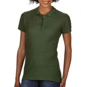 Premium Cotton Ladies` Double Piqué Polo